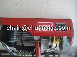 Best Quality PA200 - PA1000 220V Mini electric hoist factory