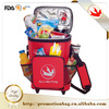 Hot china products wholesale 600D polyester zip trolley bag