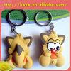 Lovely customized soft PVC 3D keychains