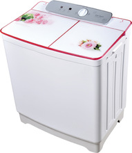 Newest touch panel household twin tub washing machine