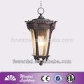 2014 die fundición de aluminio de la fábrica de china antigua al aire libre a prueba de agua lámpara moderna lámpara