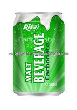 Canned Carbonate Malt Beverage