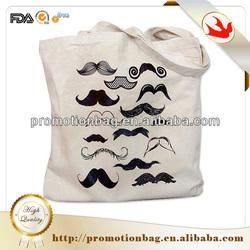 Chinese wholesaler custom printed canvas bag