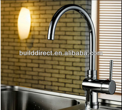 single lever european kitchen faucet