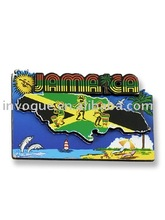 custom Jamaica souvenir fridge magnet