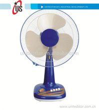 Air cooling fan table fan power consumption