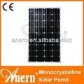 conveniente 5w a 250w monocristalinos células solares para a venda