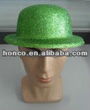 shiny cheap plastic football fans cap for 2014 Brasil World Cup Brazil