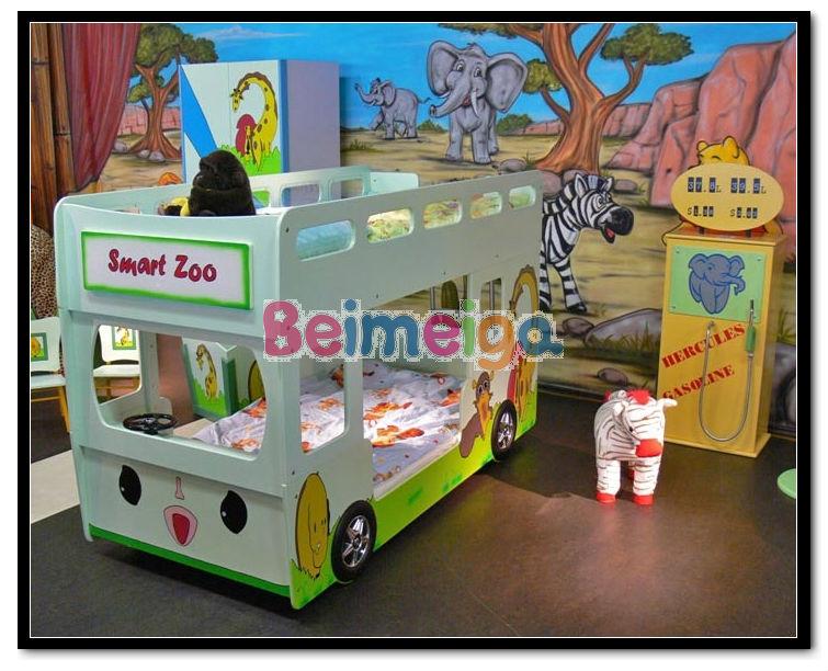 Voiture de b b lit b b lit superpos cribs lit d 39 auto pour enfants lit - Lit superpose voiture ...