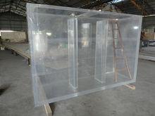 public acrylic fish tank