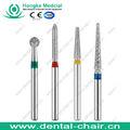 Dental burs/brocas diamantadas dental/dental brocas carbide