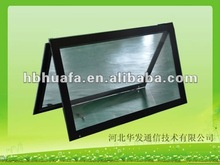 Smart dual touch screen frame kit for overlay, built in lcd tv, display
