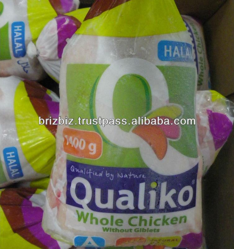 Whole Frozen Chicken Halal