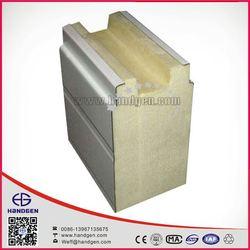 Hot sale 30-100mm Polyurethane Foam Sandwich roof PU Panel Supplier in Hangzhou