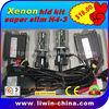 wholesale price 12V 35W hottest sale! h4 h/l xenon hid headlight for cars Atv SUV head lamp