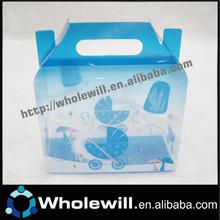 claro pvc favor do casamento caixa de doces embalagens