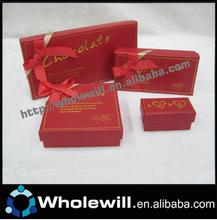 Wholesales Mini Chocolate Gift Box Packing Two Chocolates