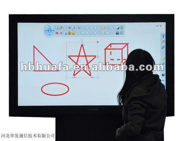 60 pulgadas LCD ordenador de pantalla táctil smart TV