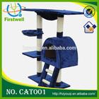 plush and sisal materials Simple cat tree luxury cat tree