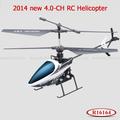2014 novo estilo de rádio controle rc helicóptero de brinquedo