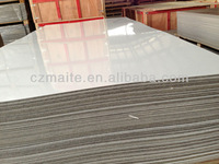 White HPL board/white laminate/white formica