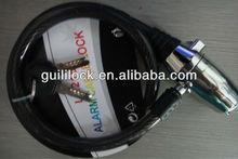 hot sell new alarm lock, cable lock, bike lock,accessory