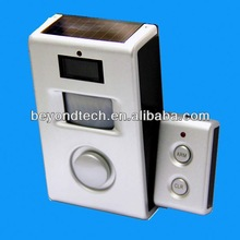 Promotional Solar Gifts Solar Motion Alarm with Remote Control,Solar Panel