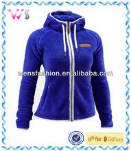 Women's Polar Fleece Zip Up Hoodies