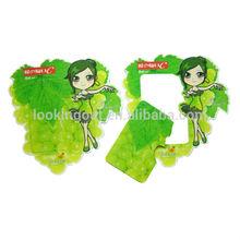 online paypal acceptable custom magnet photo frame of leaf shape