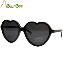 Hot Sale Black Heart Sunglasses with UV 400