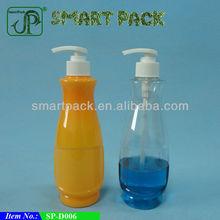 Plastic bottles in bowling shape