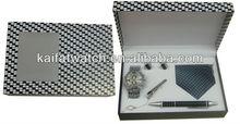 2013 Shenzhen alloy pen watch gift set men
