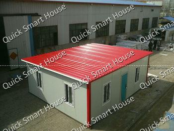 Cheap prefab house----built on concrete floor! (42m2)