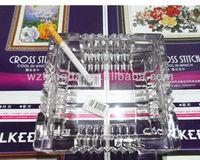 Personalized big square glass ashtray(WZ5367)