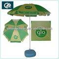 2015 venda quente ao ar livre promocionais praia folding umbrella