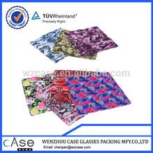WZ Hot printing mirofiber glasses cleaning cloth