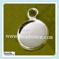 Beadsnice ID 26820 bandejas pendientes de cobre amarillo chapado en rack rack de accesorios moda