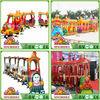 Elephant safari amusement park train,amusement park train rides for sale