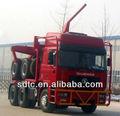shaanxi man madeira delong caminhão reboque