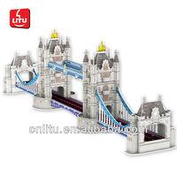 London Bridge 3D DIY Building Puzzle/Children/Adult/Education Toy