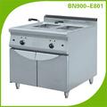 Comercial de cocina del restaurante equipo/doble eléctrico industrial cesta freidora profunda la aprobación del ce