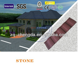Spanish Style Stone Coated Metal Roof Tiles Cheap Roofing Materials