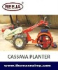 single and double row cassava planter