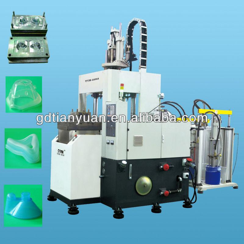 Vertical liquid silicone sealing molding machine-Liquid Silicone Rubber (LSR) O-ring making machine-silicone O-ring making
