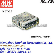 Mean well 35w switching power supply/35w triple output switching power supply/power supplies 35w