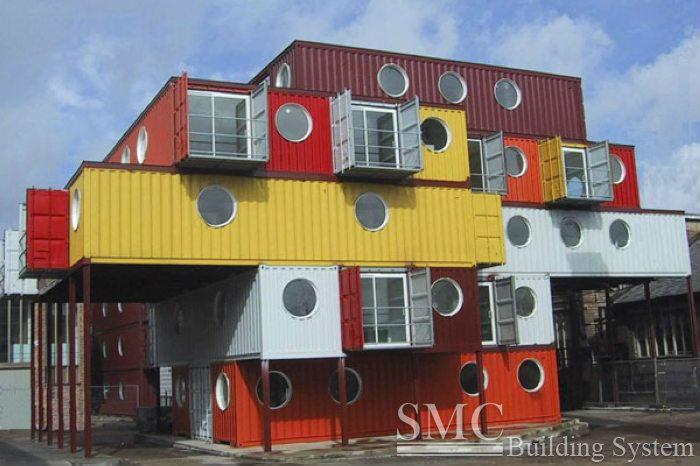 Панельные дома контейнер