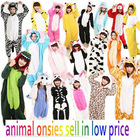 2014 newest cosplay costume pajama animal onesie