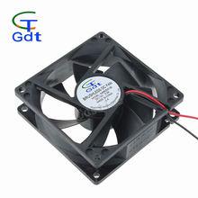 80mm 3 Inch 8025 12V 24v Machine Big Alir Flow Brushless DC Cooling Fan