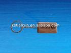 Custom engraved wood keychain/design wooden keychain/engrave wood key chains