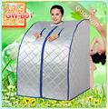 Großhandelspreis sauan Zimmer ferninfrarot abnehmen faltbare mini dampf nassen sauna zelt 1000w gw-b01